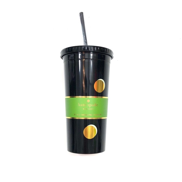 ♠️ Kate Spade Scatter Dot Insulated 20oz Tumbler